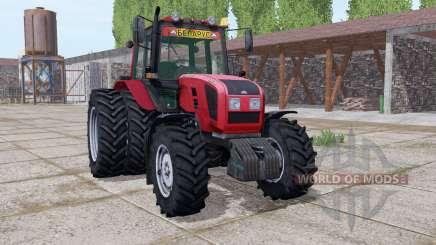 Belarús 1220.3 ruedas duales para Farming Simulator 2017