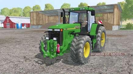 John Deere 8110 interactive control para Farming Simulator 2015