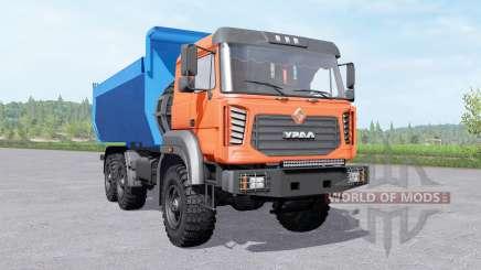 Ural 6370 camión para Farming Simulator 2017