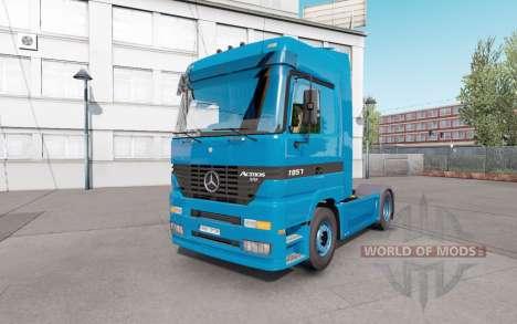 Mercedes-Benz Actros 1851 (MP1) v1.1 para Euro Truck Simulator 2