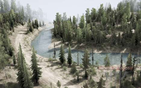 Kootenay Mountains para Spintires MudRunner