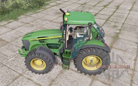 John Deere 7720 animation parts para Farming Simulator 2017