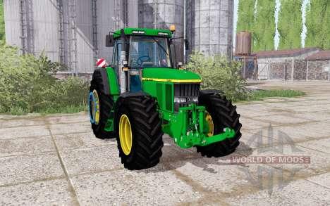 John Deere 7710 dual rear para Farming Simulator 2017
