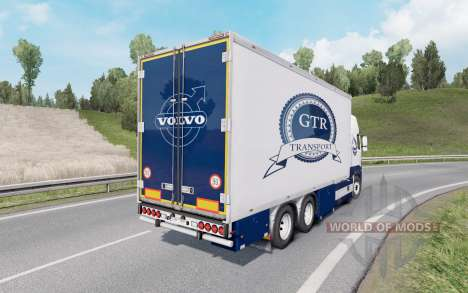 Volvo FH16 750 Globetrotter XL cab 2012 Tandem para Euro Truck Simulator 2