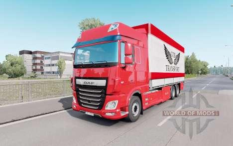 DAF XF Space Cab Tándem para Euro Truck Simulator 2