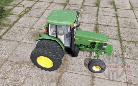 John Deere 7800 dual trasera para Farming Simulator 2017