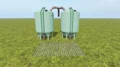Seeds and Fertilizer Silo