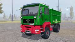 MAN TGA tipper Agroliner para Farming Simulator 2013
