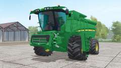 John Deere S690i with header para Farming Simulator 2017