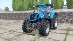 New Holland T7.290 Michelin XeoBib para Farming Simulator 2017