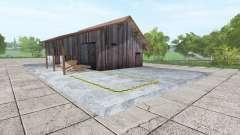 Fábrica de palets de v1.0.5 para Farming Simulator 2017