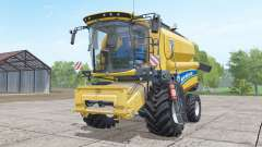 New Holland TC4.90 with header para Farming Simulator 2017