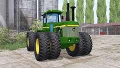 John Deere 8630 twin wheels para Farming Simulator 2017