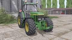 John Deere 7800 dual rear para Farming Simulator 2017