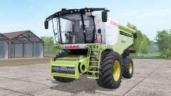 Claas Lexion 780 with headers para Farming Simulator 2017