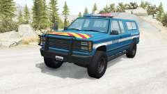 Gavril D-Series Gendarmerie v2.5 para BeamNG Drive