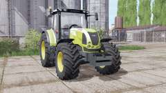 CLAAS Arion 610 wheels configuration para Farming Simulator 2017