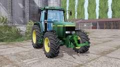 John Deere 6810 dual trasera para Farming Simulator 2017