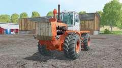 T-150K suave-naranja para Farming Simulator 2015
