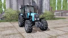 MTZ-1221 Belarús tractor de ruedas duales para Farming Simulator 2017
