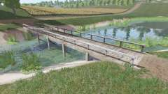 Puente de madera para Farming Simulator 2017