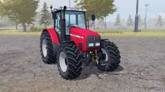 Massey Ferguson 6290 animation doors para Farming Simulator 2013