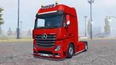 Mercedes-Benz Actros (MP4) v2.0 para Farming Simulator 2013