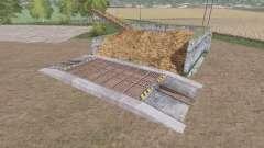 El almacenamiento de estiércol v1.0.2 para Farming Simulator 2017