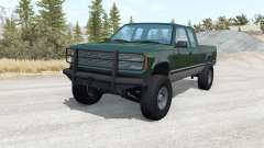 Gavril D-Series Extended Cab lifted v1.1 para BeamNG Drive