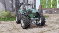 Deutz-Fahr Agrotron 9290 TTV powerful engine para Farming Simulator 2017