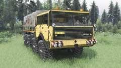 Tatra T813 TP 8x8 1967 v1.4 para Spin Tires