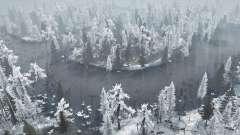 Winter Bog para MudRunner