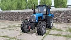 MTZ-1221 Belarús es templado-azul para Farming Simulator 2017