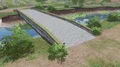 Puente de hormigón v1.0.0.1 para Farming Simulator 2017