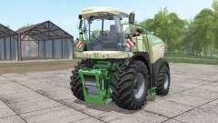 Krone BiG X 580 with bunker para Farming Simulator 2017