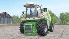 Krone BiG X 1100 with bunker para Farming Simulator 2017