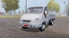 GAZ 3302 Gacela 2003 v2.0 para Farming Simulator 2013