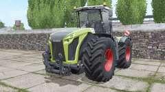CLAAS Xerion 4000 Trac VC narrow twin wheels para Farming Simulator 2017