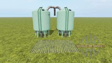 Seeds and Fertilizer Silo para Farming Simulator 2017