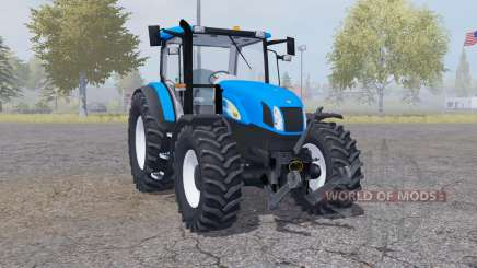 New Holland T6030 front loader para Farming Simulator 2013