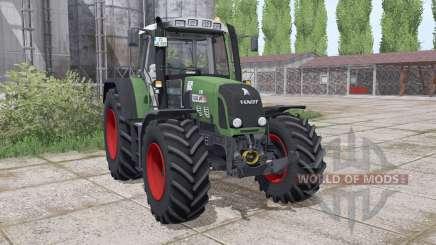 Fendt 820 Vario TMS del cargador de montaje para Farming Simulator 2017
