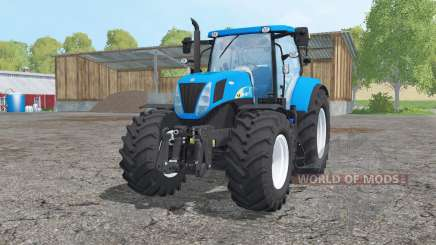 New Holland T7030 loader mounting para Farming Simulator 2015