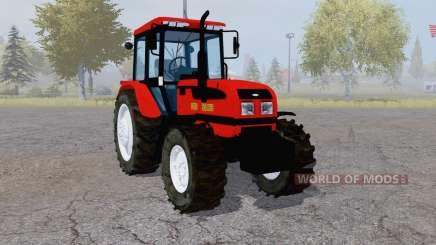 Belarús 1025.3 rojo para Farming Simulator 2013