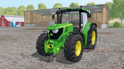 John Deere 6170R cargador frontal para Farming Simulator 2015