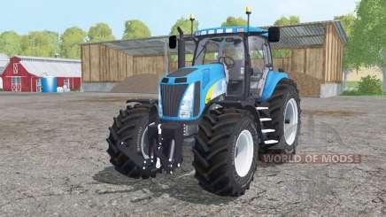 New Holland T8020 dual rear para Farming Simulator 2015