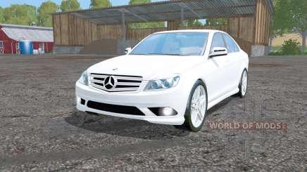 Mercedes-Benz C 350 Sport (W204) para Farming Simulator 2015