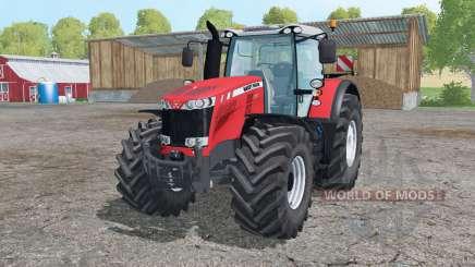 Massey Ferguson 8737 interactive control para Farming Simulator 2015