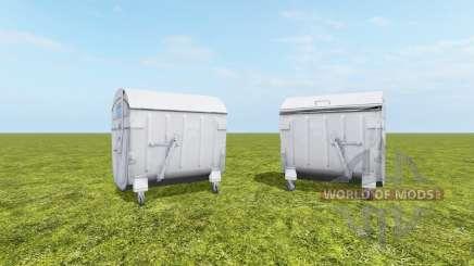 Contenedor de residuos para Farming Simulator 2017