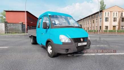 330232 GAZ GAZelle Negocio para Euro Truck Simulator 2
