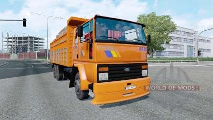 Ford Cargo 2520 v5.1 para Euro Truck Simulator 2